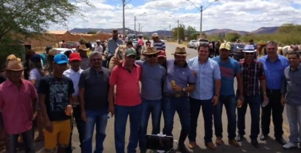 BOQUIRA – Prefeito Luciano Recebe o Secretário Estadual de Agricultura na VI Edição da CAVALGADA da INDEPENDÊNCIA