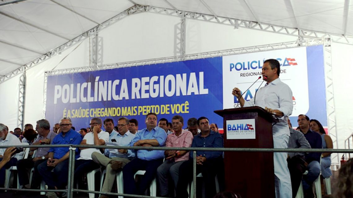 Governador Rui Costa entregou POLICLÍNICA DE GUANAMBI