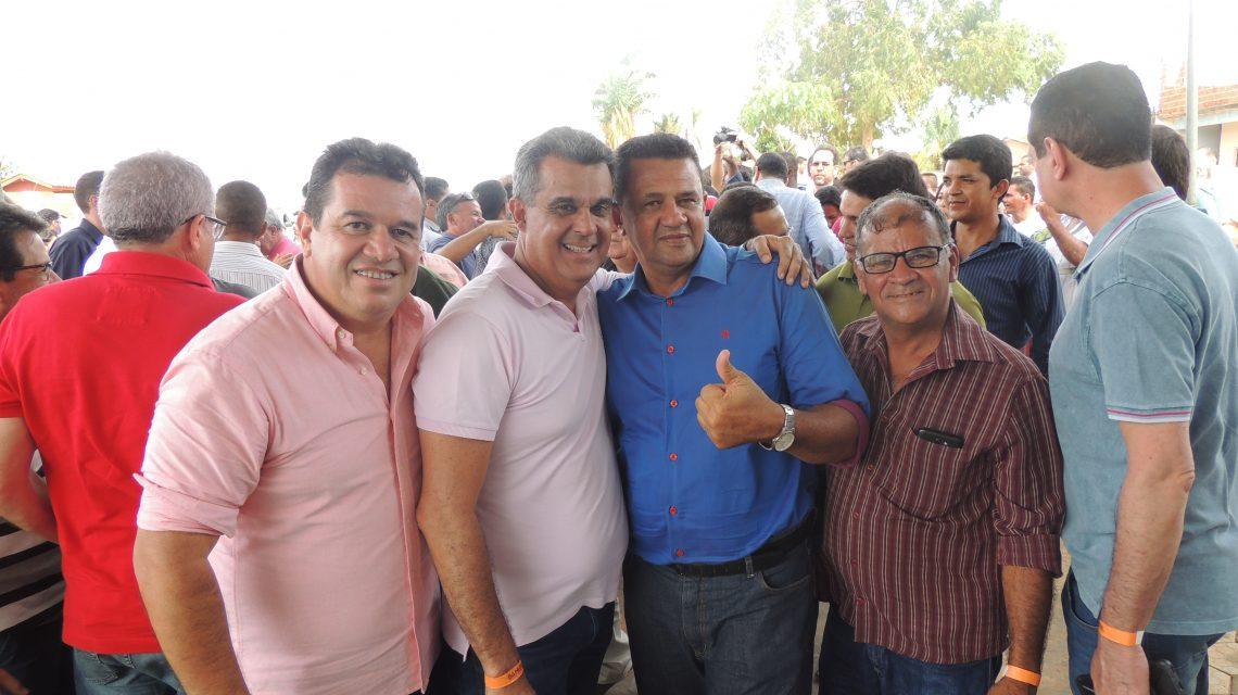 O Governador Rui Costa e o prefeito Amelinho Inauguram Obras em Macaúbas