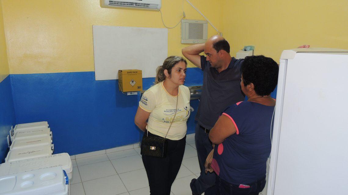 PREFEITURA DE RIO DE CONTAS promoveu a REABERTURA da UBS Unidade Básica de Saúde da sede TOTALMENTE REFORMADA